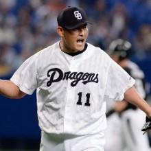 中4-1神(23日) 川上が今季初勝利