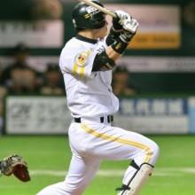 ソ3-2日(5日) 長谷川、勝ち越し二塁打