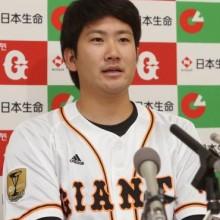 月間MVPに巨人・菅野ら 全4選手が初受賞