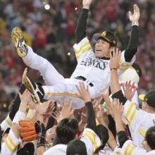 ソフトB、4連勝で6度目の日本一 日本シリーズ第5戦の試合結果
