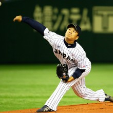侍ジャパン、4投手でノーヒットノーランを達成 則本が5回をパーフェクト