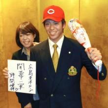 中部学院大の野間、広島入団決定 俊足巧打の外野手
