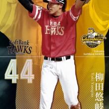 """ファンが選ぶ2014年のホークスMVPは、""""マン振り""""で人気急上昇の柳田悠岐!"""