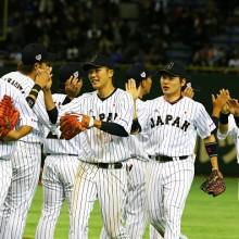 今年最初の代表戦で侍ジャパンが勝利 雄平が逆転打!