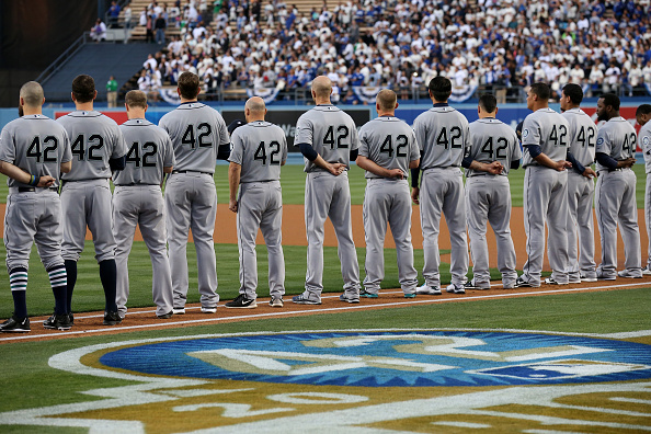 baseball 42 The movie 42 is a biographical drama on dvd about jackie robinson, a hall of fame baseball player who broke the color barrier in major league baseball in 1946, robinson (chadwick boseman) is a negro league baseball player who never takes racism lying down.
