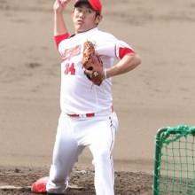 昨季チーム最多登板の広島・中田が昇格 30日のプロ野球公示