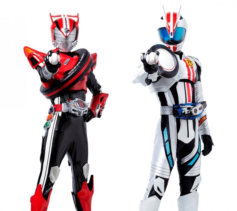 BASEBALL KING | 日本の野球を盛り上げる!仮面ライダードライブ&マッハが西武プリンスに来場!