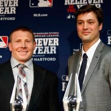 パイレーツのメランコン、ヤンキースのミラーが今年の最優秀救援投手に
