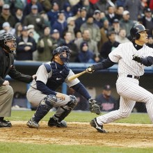 松井秀喜氏、印象に残る本塁打に「初めてヤンキーススタジアムで打った満塁ホームラン」