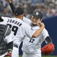 中日・田島、開幕から27試合連続無失点 今季初セーブでプロ野球新記録!