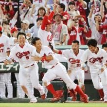 胃がんの手術を受けた広島・赤松が現況を報告 「病院内を歩き回ってます!」