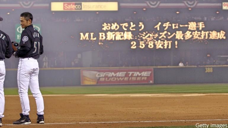 安打 メジャーリーグ 記録 最多 年間