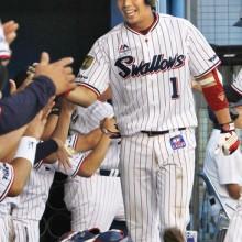 ヤクルト・山田哲人が本塁打量産中! 史上6人目の日本人50本超えは?
