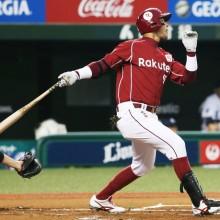 きのう獲得発表、きょう入団会見の楽天・ペレスが快挙!球団初の「初打席本塁打」