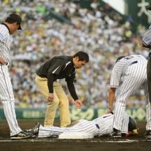 阪神・西岡、26日に左アキレス腱の手術へ 「めっちゃビビってます」