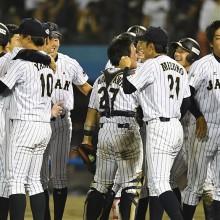 【日米大学野球】島田がサヨナラ犠飛 日本が2大会連続18度目のV