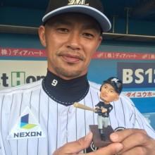 【ロッテ】福浦のボブルヘッド人形が発売!「似てるかどうかは自分では判断がつかない」