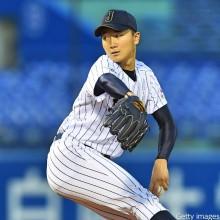 【日米大学野球】日本、打線沈黙で初黒星…宮台は3回途中1失点
