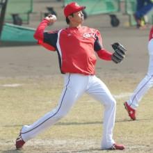 広島・大瀬良、九里の同学年右腕 黒田の穴を埋める活躍に期待!