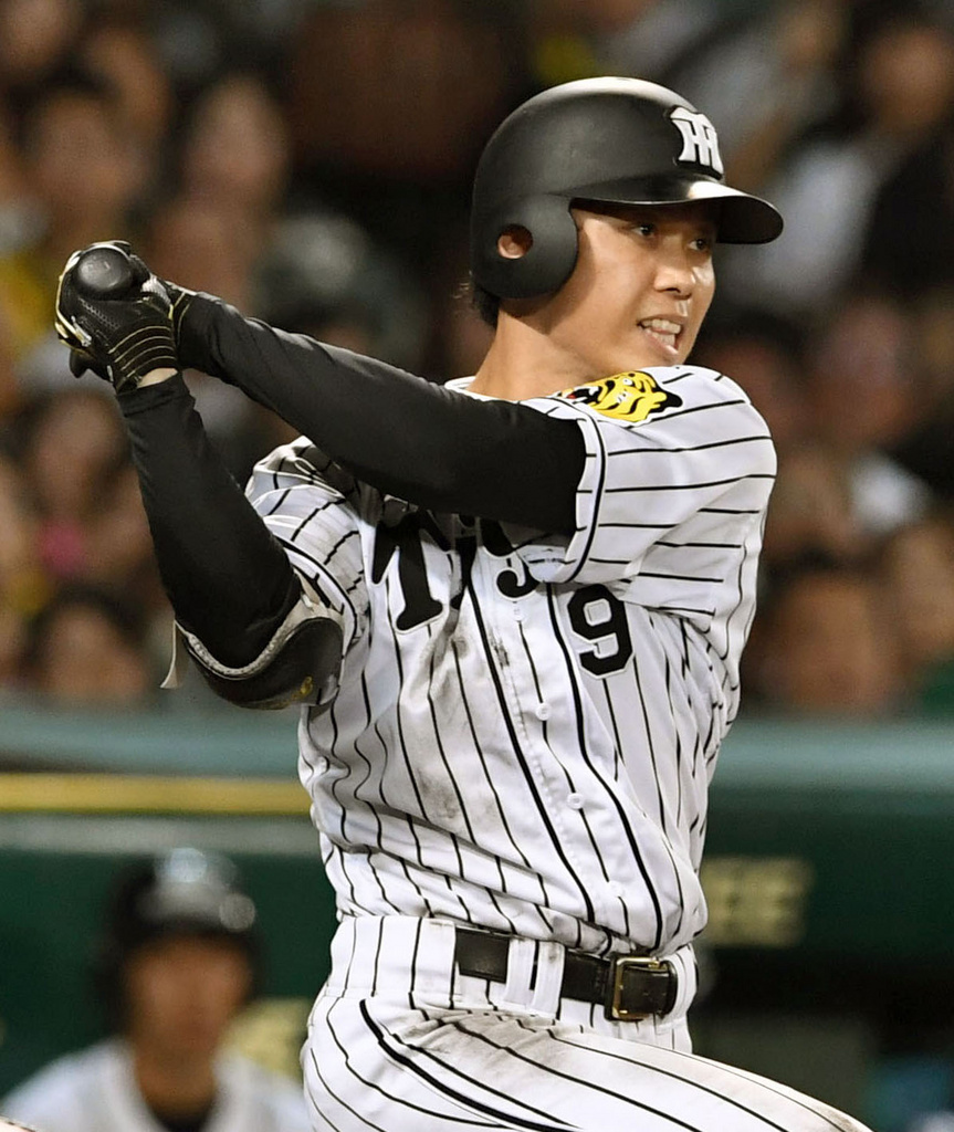 BASEBALL KING   日本の野球を盛り上げる!阪神・高山が球団では赤星氏以来のクリア 新人で規定打席に到達した選手は?