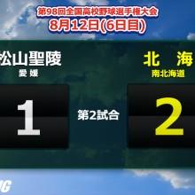 アドゥワ誠、187球の力投も実らず…初出場の松山聖陵は初戦敗退