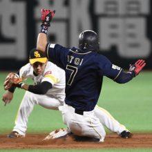 同数決着なら7度目…糸井vs金子侑の盗塁王争い