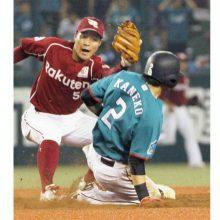 西武・金子侑司、糸井見えた!50盗塁達成で差は「2」