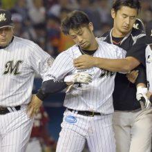 ロッテ・清田、頭部死球を受けた美馬と和解!?「投げにくかったと言っていた」