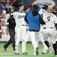 日本ハム、サヨナラ初星で王手阻止 3番大谷がV打含む3安打&4出塁!