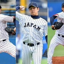 【侍ジャパン】大瀬良、山崎康、石田がシート打撃に登板 チームメイト同士の対戦も