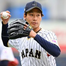 【侍ジャパン】初戦の先発を託された武田 「いい試合ができれば」