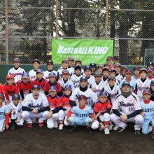 ヤクルト雄平&石山らが野球教室 小学生50人に密着指導