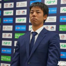 西武・本田圭佑ら3選手が契約更改 先輩・岸からの金言を胸に「まず1勝」を