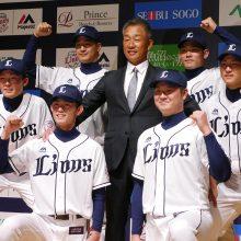 【西武】新入団選手発表会でドラ1・今井ら6名のユニフォーム姿お披露目