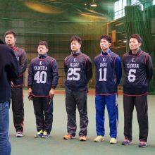 """西武D1今井「投げ足りない」とキャッチボール""""おかわり""""…新人合同自主トレ開始"""