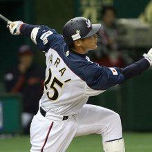 田中が菊池、鈴木に続きWBCメンバー入り 広島から過去最多の3名選出
