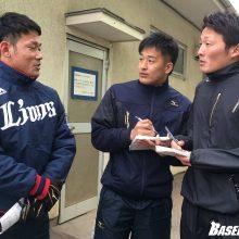西武D6田村、同期からの質問攻めにタジタジも「俺のココを見ろ!」