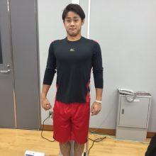 2年連続で体力測定を行ったロッテ・平沢 「力はついてきたと思う」