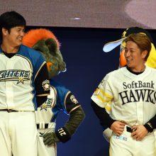 大谷翔平(左)と川島慶三(右)