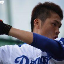 中日・溝脇、プロ初本塁打 谷繁氏「センスを凄く感じる選手」