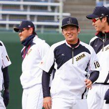 【侍ジャパン】強化合宿2日目…原氏ら大物OBを前に投手陣『ド緊張』