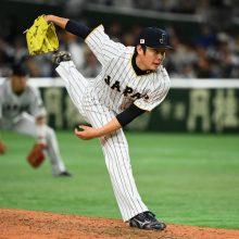 侍J最年少・松井が圧巻投球…三者連続三振に「強化試合から調子良かった」