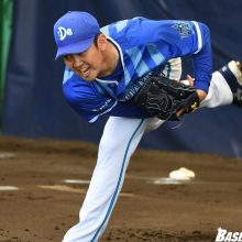 DeNA・山崎康、直球に手応え 「感覚としては良かった」