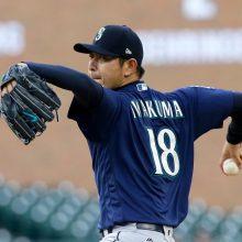 岩隈久志、6回途中1失点も初勝利ならず マリナーズは接戦制し連勝