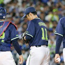 大矢氏、初回3点を失った由規に「主導権を渡してしまった」