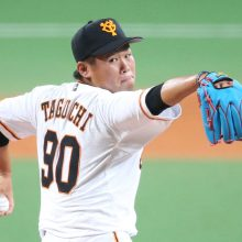 現在、防御率1位 巨人・田口麗斗投手(21歳)【スポーツ人間模様】