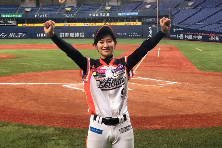 女子プロ野球の\u201cオリ姫\u201d加藤優、師匠・駿太の言葉を胸に