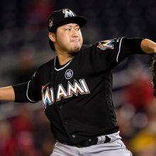 田沢、MLB日本人初の5年連続50試合登板 イチローは代打で空振り三振