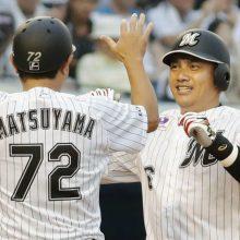 ロッテ・井口が引退試合で同点HR!「ここ数年忘れかけていた感触」