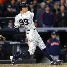 ヤンキース勝利で優勝決定Sを1勝2敗に 不振のジャッジが3点本塁打